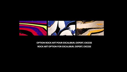 Option Rock Art, Excalibur, Expert, Excess