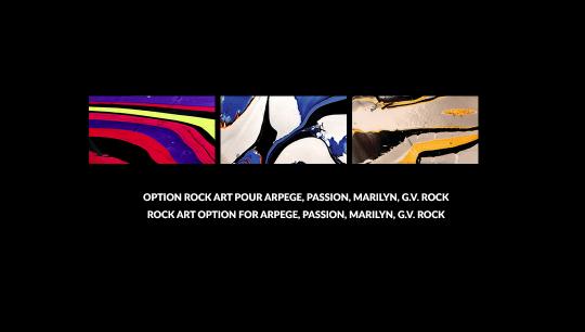 Option Rock Art, Arpege, Passion, Marilyn