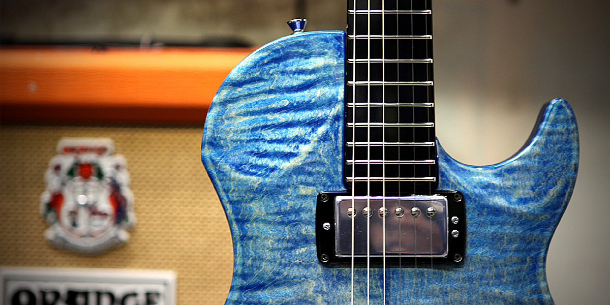 Vigier G.V. Wood en Stone Washed Blue